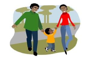 Chippewa Chiropractor Happy Family